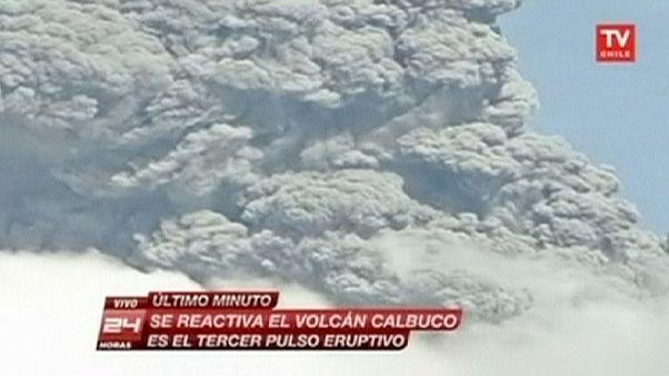 Χιλή: Τρίτη έκρηξη στο ηφαίστειο Καλμπούκο