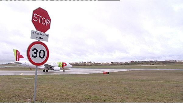 طيارو شركة تاب البرتغالية يشنون إضرابا