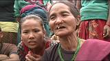 Aid reaches remote Nepal villages
