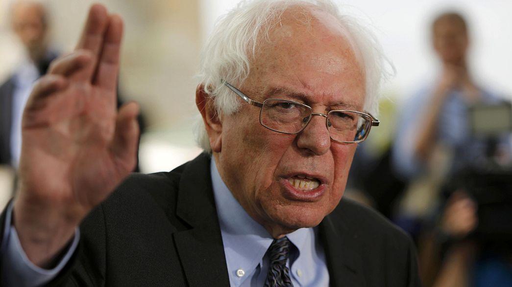Bernard Sanders se medirá con Hillary Clinton en las primarias demócratas