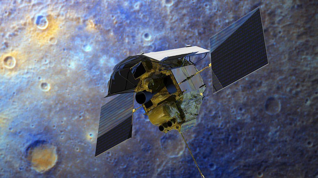 Uzay aracı Messenger'ın Merkür macerası sona erdi