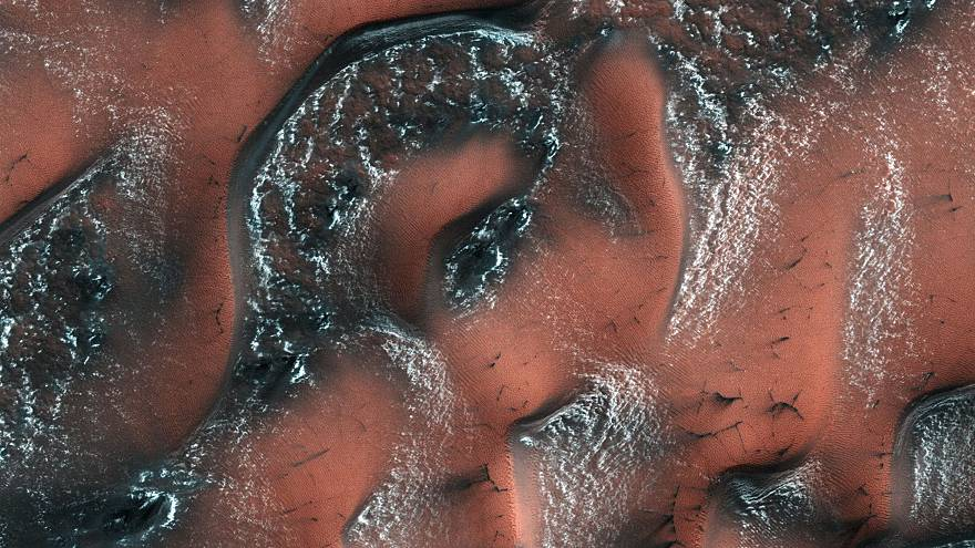 Image: Water on Mars