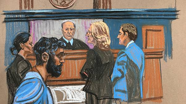 Image: Akayed Ullah arraignment