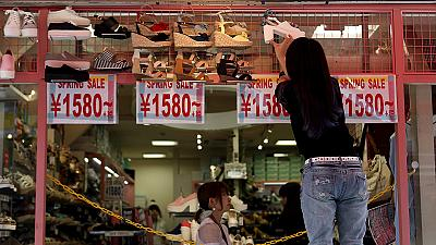 Japan's inflation ticks up