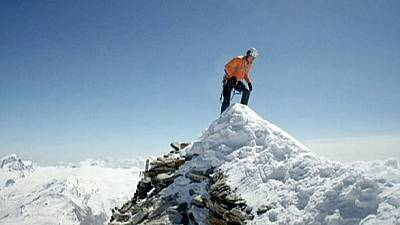 Daniel Arnold scales Matterhorn in record time