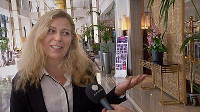 Hablando de cine con la directora danesa Lone Scherfig en Estambul