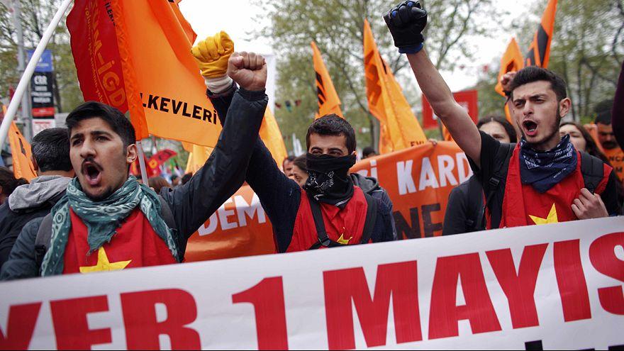 اشتباكات بين قوات الأمن ومتظاهرين في اسطنبول