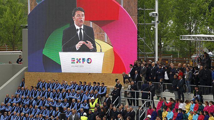 EXPO Milano tören ve protestolarla kapılarını açtı