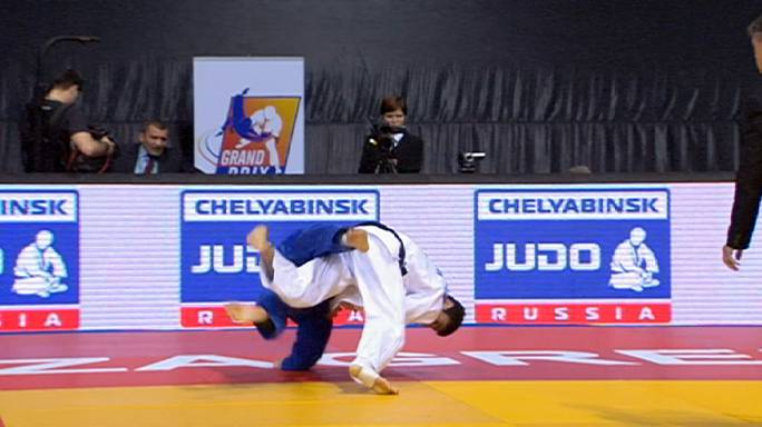 Smythe-Davis strikes gold at Zagreb Judo Grand Prix