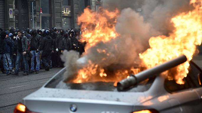 Milan Expo opens to riots on the city's streets
