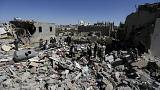 Jemen: az intervenciós gépek lakónegyedet bombáztak a lázadók fészkében, Szanaaban