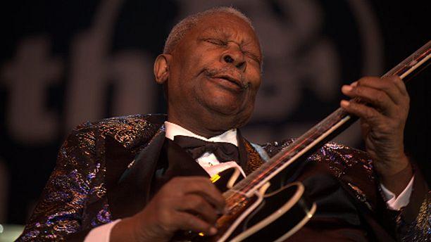 Blues legend B.B. King in hospice