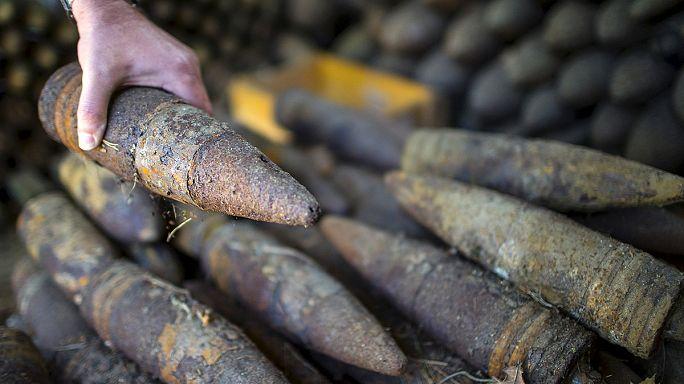 Több ezer tonna bomba kerül elő a talajból évente Németországban