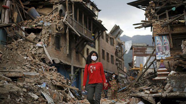 A földrengés után járványtól tartanak Nepálban