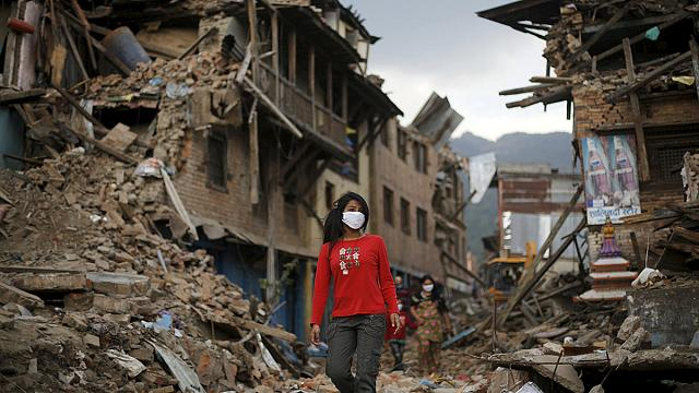 Непал: ВОЗ начала вакцинацию детей от кори
