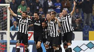 Juventus win Serie A with four games in hand
