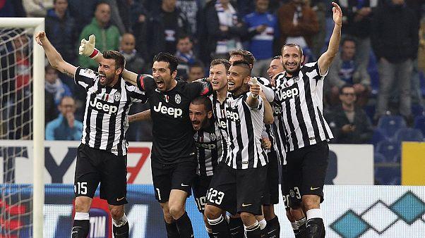 يوفينتوس ضمن لقب ايطاليا للمرة الرابعة على التوالي