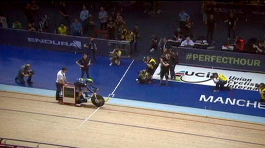 Rad-Spektakel in Manchester: Dowsett verbessert Stundenweltrekord