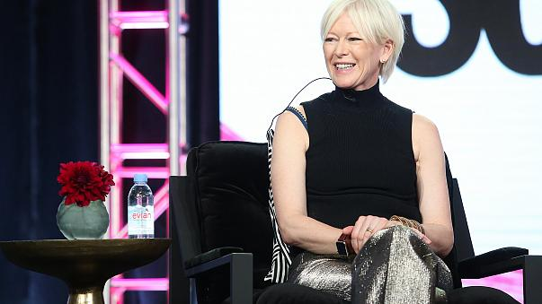 Image: Joanna Coles of the television show 'So Cosmo' speaks onstage