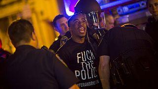 اعتقال عشرات المتظاهرين في بالتيمور بسبب خرقهم حظر التجوّل