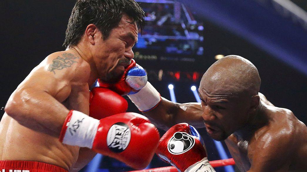 Un escurridizo Mayweather vence a Pacquiao a los puntos y sigue invicto