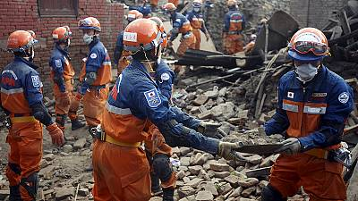3 people pulled alive from rubble 8 days after Nepal earthquake