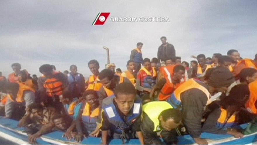 4,100 people rescued from Mediterranean over the weekend