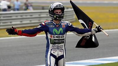 Lorenzo's Spanish win caps a week in motorsport