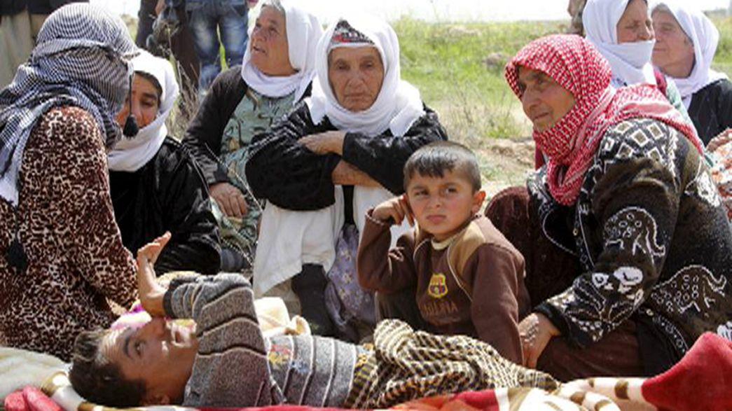 Jesiden fürchten Massaker - Offenbar Frauen in Syrien verkauft
