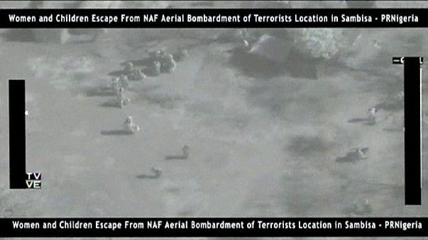 Nijerya ordusunun Boko Haram operasyonu görüntüleri