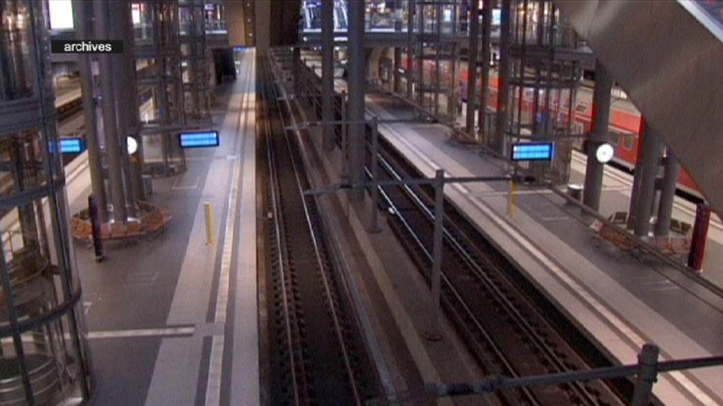 Almanya'da tren makinistleri grevde