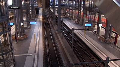 6 días de huelga de trenes en Alemania a partir del martes
