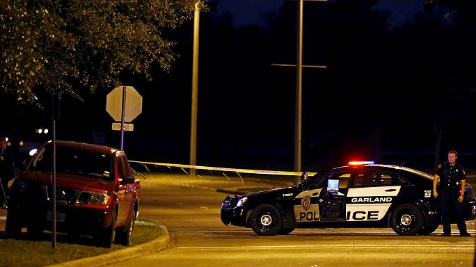 Two gunmen shot dead at art show featuring Mohammad cartoons in Texas