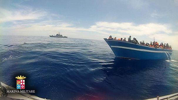 Canale di Sicilia, circa 6000 migranti soccorsi nelle ultime ore$