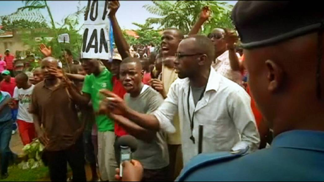 Burundi protests resume against president's decision to seek a third term in office