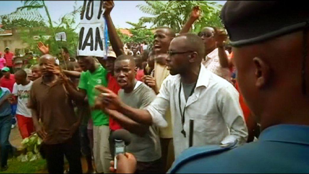 Burundi'de başkanın adaylığına karşı protestolar sürüyor