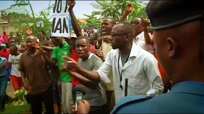 Már két hete tüntetnek Burundi fővárosában