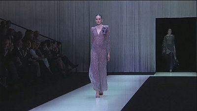 Italian icon Giorgio Armani celebrates 40 years in fashion