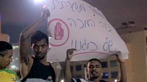 Anti-racism protest becomes violent in Tel Aviv