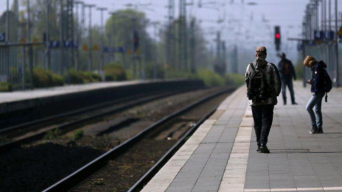 Almanya'da bir haftalık demiryolu grevi