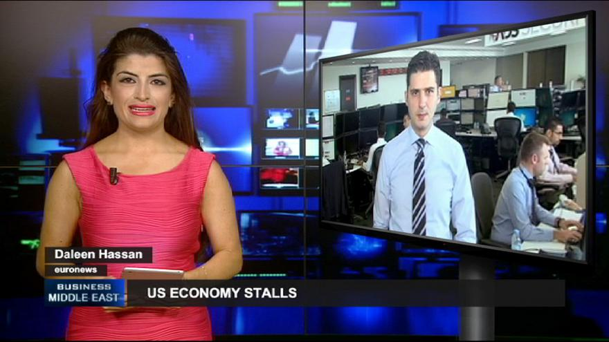 Os EUA abrandam e o Egito vive polémica na Bolsa