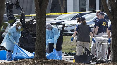 Texas shooting suspect sent out tweets ahead of cartoon attack