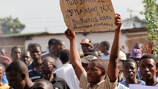 Constitutional court VP flees as Nkurunziza 3rd term violence escalates in Burundi