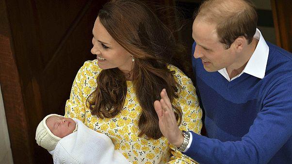Charlotte: Só as casas de apostas é que não gostaram do nome da nova Princesa britânica