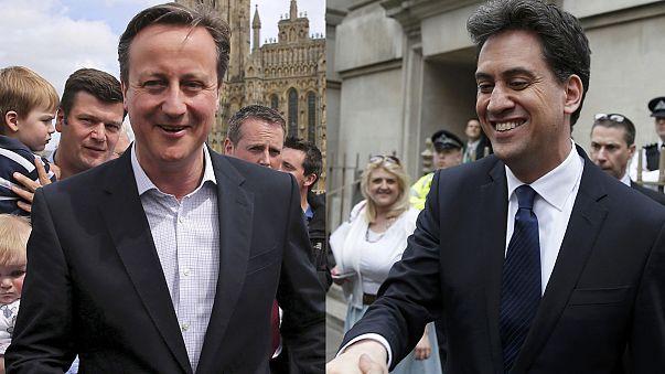 Jede Stimme zählt: Kopf an Kopf vor Wahl in Großbritannien