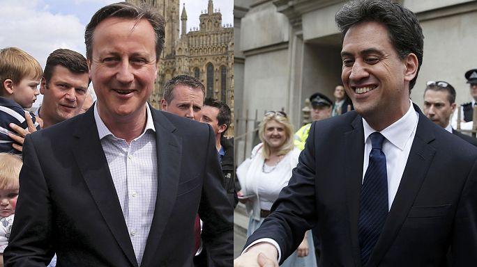 İngiltere'de genel seçim öncesi son mesajlar
