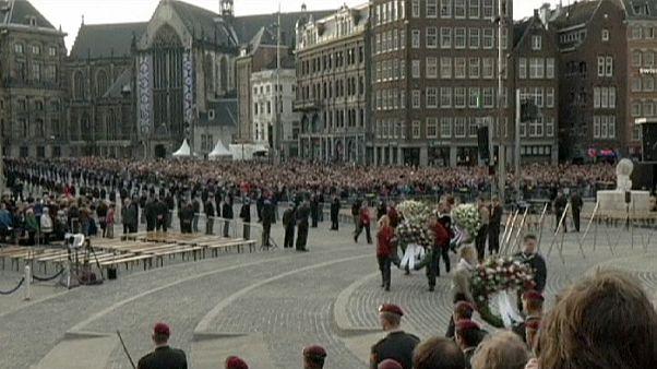 A II. világháború áldozataira emlékeztek a hollandok