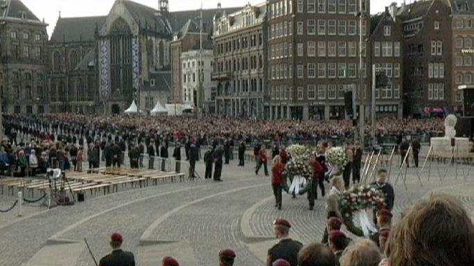 Amsterdam'da 2. Dünya Savaşı anma törenleri