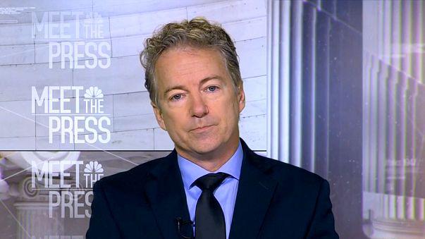 Image: Senator Rand Paul (R-KY) appears on Meet the Press on Jan. 14, 2018.
