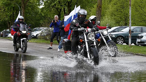 """""""Night Wolves"""" bikers court controversy at Dachau"""